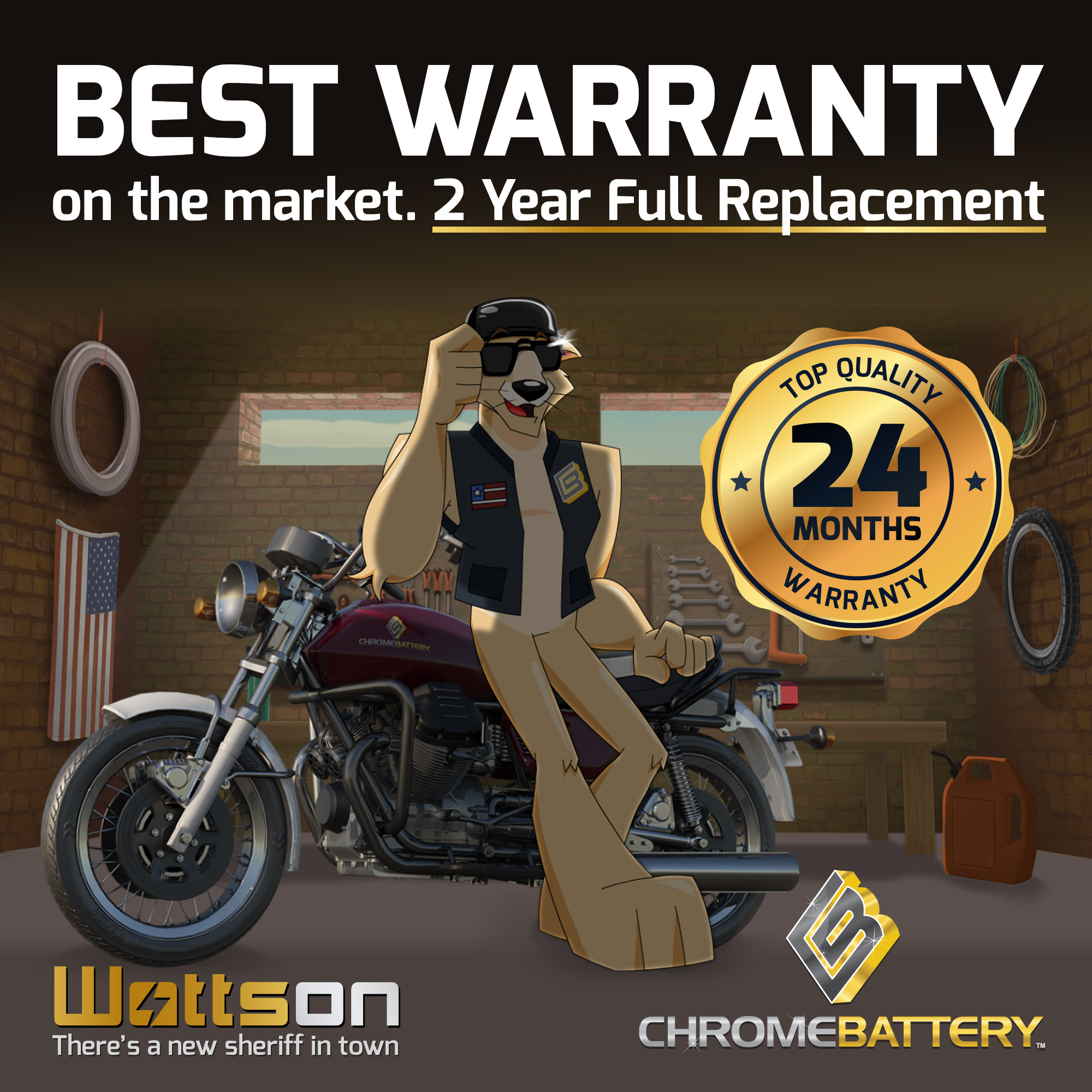thumbnail 5 - YTX20L-BS Jet Ski PWC AGM Battery for Honda, Sea-Doo, Kawasaki, Polaris, Yamaha